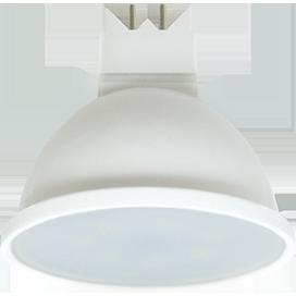 Светодиодная лампа рефлектор MR16 Premium 8W GU5.3 2800K матовое стекло (композит) 48x50