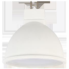 Светодиодная лампа рефлектор MR16 Premium 5,4W GU5.3 2800K матовое стекло (композит) 48x50
