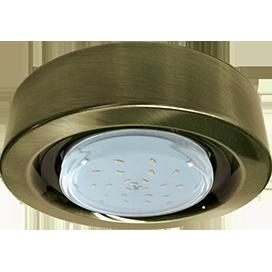 Светильник накладной Ecola GX53 FT3073 Большой выбор расцветки 32х130