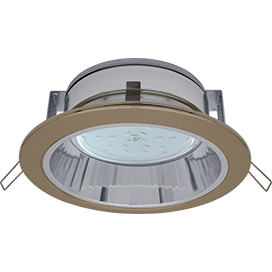 Светильник встраиваемый с рефлектором GX53 H2R Большой выбор расцветки 58x125 Ecola ЭКОЛА