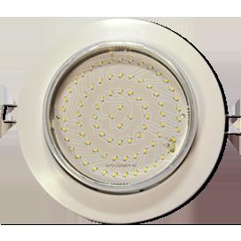 Светильник встраиваемый Ecola GX70-H8 SL Большой выбор расцветки легкий без рефлектора 24x155
