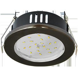 Светильник встраиваемый Ecola GX53 H9 защищенный IP65 Большой выбор расцветки 98х55 ЭКОЛА