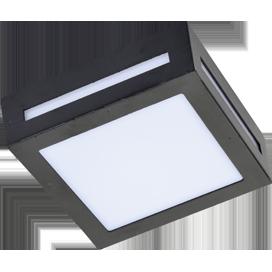 Светильник накладной матовый Квадрат металл. GX53 LED 3082W IP65 1*GX53 136x136x55