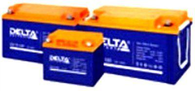 Аккумулятор DELTA GX 12-100 гелевый 100Ач