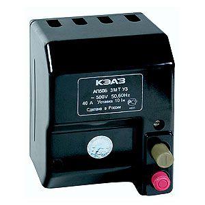 Автоматический выключатель АП50Б 3МТ 3,5 In 40/50/63 А (трехполюсные)