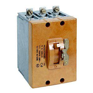 Автоматический выключатель ВА21-29 (одно-, двух-, трехполюсные)