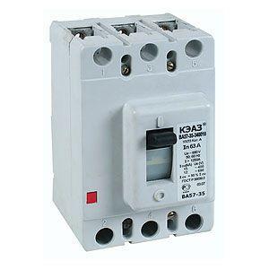Автоматический выключатель ВА57-35 ~ 690В 200/250 А трехполюсные