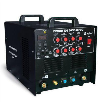 Инвертор сварочный Rilon TIG-200P AC/DC ПРОФИ