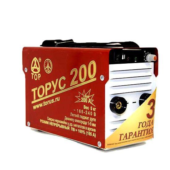 Инвертор сварочный ТОРУС-200 Классик