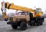 Автокран на базе УРАЛ 4320-40И
