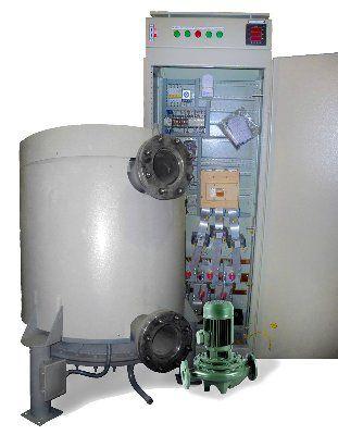 Электрический котел высоковольтный водогрейный ЭВКВ-2500/10