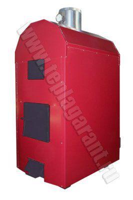 Воздухогрейные твёрдотопливные пиролизные котлы длительного горения Буржуй-К Тв-100