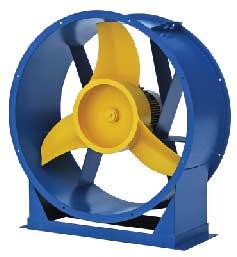 Осевой вентилятор ВО 06-300-6,3; 1,5/1500 вытяжной или приточный