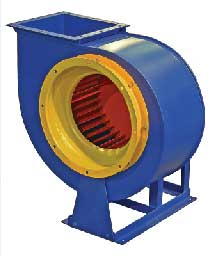 Вентилятор центробежный коррозионностойкий (радиальный) ВЦ (ВР) 14-46 К; №6,3; 22/1000