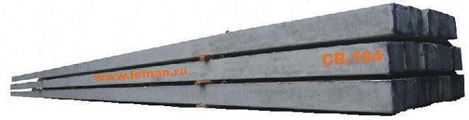 опора для ЛЭП ж/б Стойка вибрированная для опор ЛЭП) СВ-164