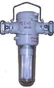 Светильник ЛСР.1х1-36Э1 Напряжение питания 36В, напряжение лампы 127В.