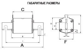 Предохранитель FUSE NV/NH1 KOMBI 125A 500V gL-gG