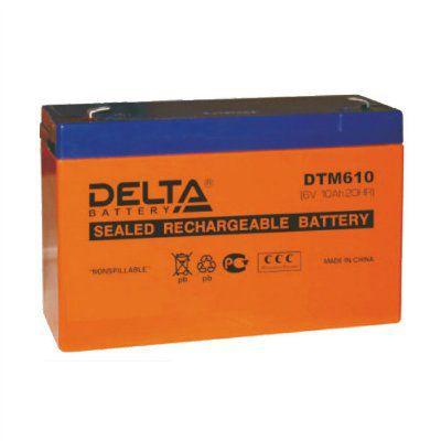 Аккумулятор 6V 12.0Ah DTM612