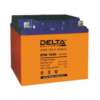 Аккумулятор 12V 40.0Ah DTM1240 L
