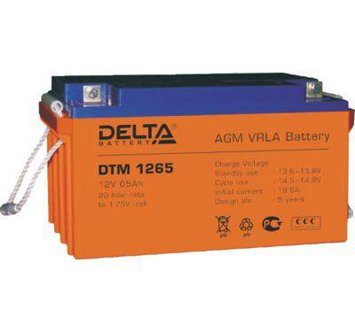 Аккумулятор 12V 65.0Ah DTM1265 L