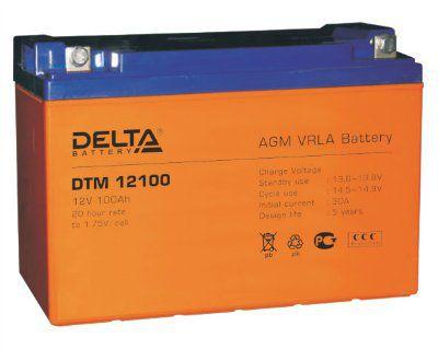 Аккумулятор 12V 100Ah DTM12100 L