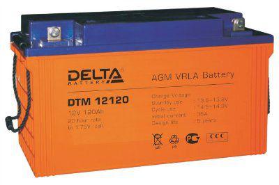 Аккумулятор 12V 120 Ah DTM12120 L