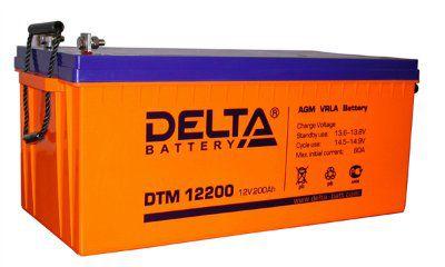Аккумулятор 12V 200 Ah DTM12200 L