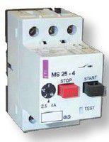 Автоматический выключатель защиты двигателя MS25-0.25