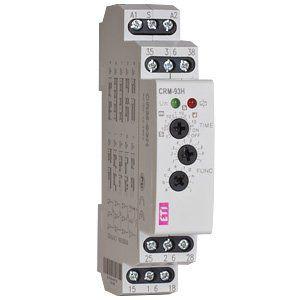 Многофункциональное реле времени CRM-93H UNI 12-240V AC/DC (3x8A AC1)