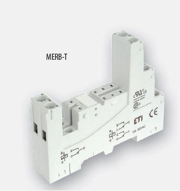 Цоколь MERB-T для серии MER2