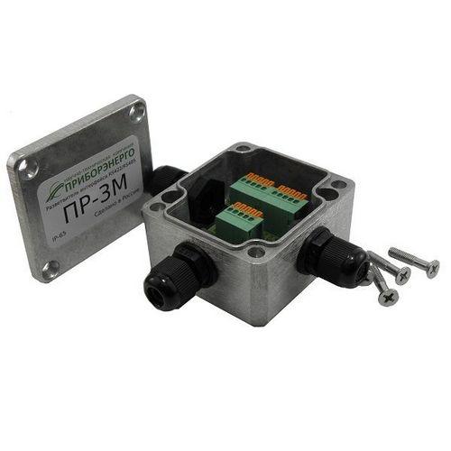 Разветвитель интерфейса RS422/485 ПР-3М, в металлическом корпусе, IP65