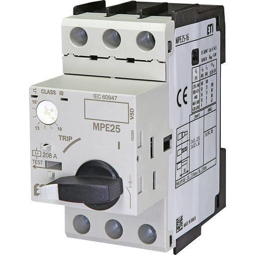 Автоматический выключатель защиты двигателя MPE 25-16 (10-16А), номинальная мощность двигателя 7.5 кВт