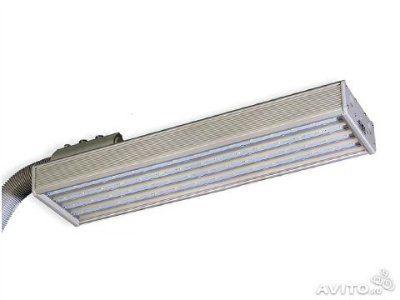 Светодиодный консольный уличный фонарь 120 ВТ