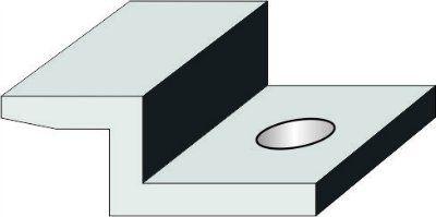Зажим концевой для солнечных модулей без рамки LEA