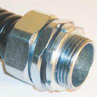 Резьбовой элемент с наружной резьбой для металлорукава РКн-8
