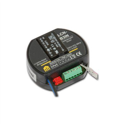 LCN-B3IN - 3-канальный цифровой датчик с встроенным источником питания для встраивания в розетку