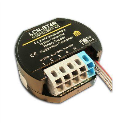 канальный преобразов. сигналов от кнопок-/бинарный сенсор для встраивания в розетку