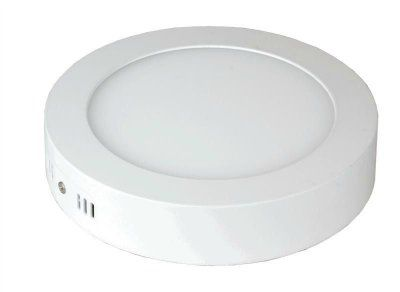 Панель светодиодная круглая NRLP-eco 18Вт 230В 4000К 1260Лм 225мм белая накладная IP40 IN HOME