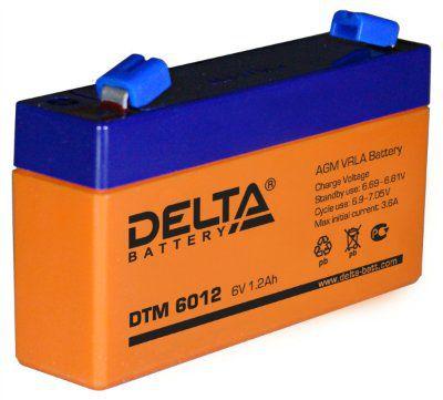 АКБ DTM 6012(6В;1,2А/ч)