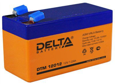 АКБ DTM 12012 (12В;1,2А/ч)