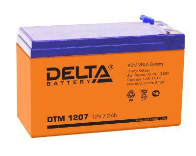 АКБ DTM 1207(12В;7А/ч)