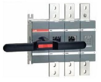 Реверсивный рубильник OT800E03C 800А 3-полюсный (без ручки управления) | SGC1SCA022785R4270 | ABB