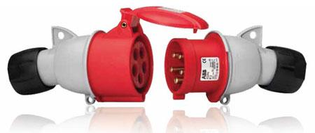 Розетка кабельная ICAT брызгозащищенная 16A 2P+E IP44 | 2CMA193520R1000 | ABB