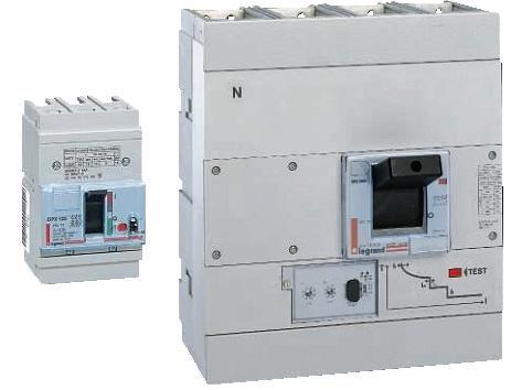 Автоматический выключатель DPX 4-полюсный 125A 36kA | арт. 25063 | Legrand