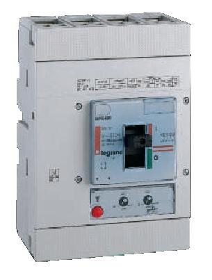 Автоматический выключатель DPX-H 630 4 полюса 630A 70kA магнитный расцепитель | арт. 25560 | Legrand