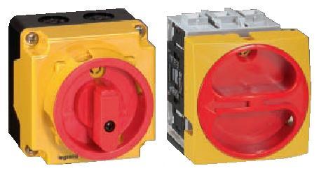 Выключатель-разъединитель 3 полюса 25А, скрытого монтажа   арт. 22102   Legrand