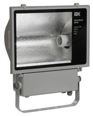 Металлогалогенный прожектор ГО03-250-02, до 250Вт, цоколь Е40, асимметричный, IP65 | арт. LPHO03-250-02-K03 | ИЭК