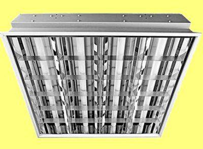 Встраиваемый люминесцентный светильник ЛВО13-4х18-472/F-Милано-Грильято 4х18Вт, электронный ПРА, для потолка типа «Грильято» | арт. 1120836 | Люмсвет