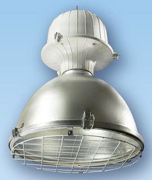 Подвесной промышленный светильник ЖСП01-100-732 цоколь Е40, 100Вт, IP54, алюминиевый отражатель без отверстий, защитное стекло, электромагнитный ПРА | арт. 1001100732 | АСТЗ