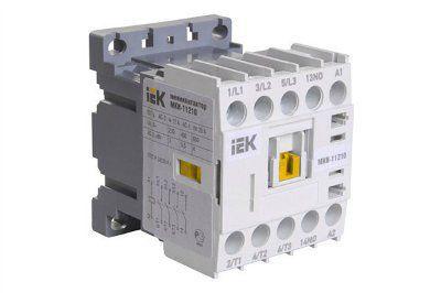 Электромагнитный миниконтактор МКИ-11210 12А 230В/АС3 1НО | арт. KMM11-012-230-10 | ИЭК